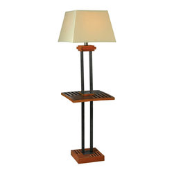 Kenroy - Kenroy 32196CYGY Hadley Outdoor Floor Lamp - Kenroy 32196CYGY Hadley Outdoor Floor Lamp