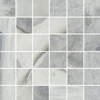 Raja Collection Himachal White Mosaic - Raja replicates the exotic slate found in India thanks to the most advanced inkjet technology.