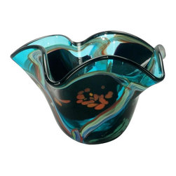 Dale Tiffany - New Dale Tiffany Vase Favrile Glass - Product Details