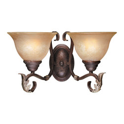 World Imports - World Imports 2623-24 Olympus Tradition Crackled Bronze Wall Sconce - World Imports 2623-24 Bronze Ceiling Lighting