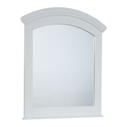 Standard Furniture - Standard Furniture Reagan Kids' Arched Mirror in White - Reagan Bedroom offers the perfect solution for rooms that have a smaller footprint, yet still need lots of storage.