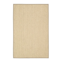 Calvin Klein Home - Calvin Klein Home CK207 Kerala CKS01 8' x 10' Nature Area Rug 15049 - In neutral balsa tones.that are light reflective, a story of color and striking style meets substance in this understated sisal rug. Made from the agave plant this eco-friendly, marvelously textured rug is about both ease and timelessness.