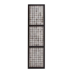 BZBZ67707 - Amy Princessa Wall Panel with White and Black Stylish Design - Amy princess wall panel with white and black stylish design. Add a touch of uniqueness and elegance to the decor of your home with the Amy Princess wall panel. Some assembly may be required.