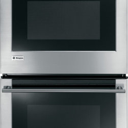 """GE Monogram - GE Monogram® 27"""" Built-In Electric Double Oven - From the simplest gratin to the Thanksgiving turkey, a Monogram wall oven delivers exceptionally consistent cooking performance, every time. Of course, exceptional design, whether European or professional, takes shape in these powerful wall ovens."""