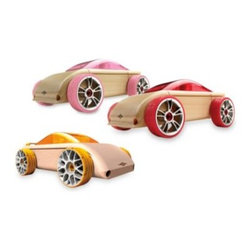 Manhattan Toy Company - Automoblox Sport Cars - Have you always wanted to build your own uniquely designed car and watch it go? Automoblox cars are designed with creative and imaginative children in mind.