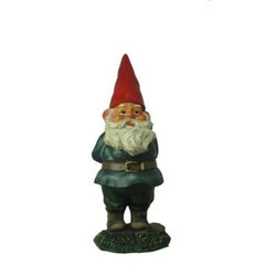 eclectic garden sculptures by Amazon