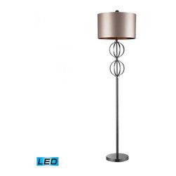 Dimond - One Light Coffee Plating Floor Lamp - One Light Coffee Plating Floor Lamp