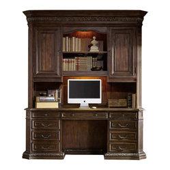 Hooker Furniture - Hooker Furniture Adagio Computer Credenza with Hutch - Hooker Furniture ...