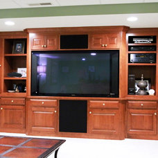 Traditional Home Electronics by Superior Cabinetry