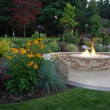 Traditional Fire Pits by Greener Living Solutions, Inc