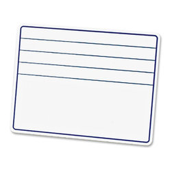 ChenilleKraft - ChenilleKraft Ruled Dry-Erase Board with Lines - Surface - Frame - Film - 1 Each - Dry-erase board with lines is great tool for every classroom. The ruled design helps students practice writing.