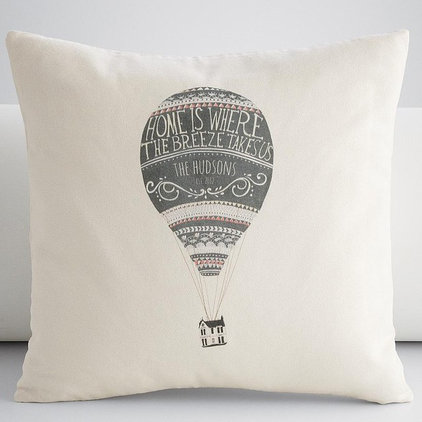 contemporary pillows by RedEnvelope