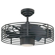 Enclave 23 in. Natural Iron Ceiling Fan-AC17723-NI at The Home Depot