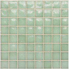 bathroom tile by glasstile.com