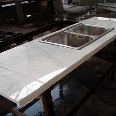 Kitchen Countertops by SL Crystallized Glass