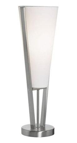 Dainolite - Dainolite 83322-SC Emotions 1 Light Table Lamp - Features:
