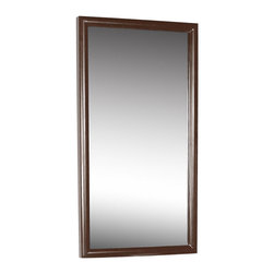 "BathAuthority LLC dba Dreamline - Mirror, Mahogany - • 23 5/8"" W x 0"" D x 35 1/2"" H"
