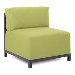 Howard Elliott - Howard Elliott Starboard Willow Axis Chair Slipcover - Axis chair starboard willow slipcover