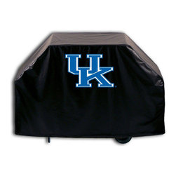 "Holland Bar Stool - Holland Bar Stool GC-UKY-UK Kentucky ""UK"" Grill Cover - GC-UKY-UK Kentucky ""UK"" Grill Cover belongs to College Collection by Holland Bar Stool This Kentucky ""UK"" grill cover by HBS is hand-made in the USA; using the finest commercial grade vinyl and utilizing a step-by-step screen print process to give you the most detailed logo possible. UV resistant inks are used to ensure exeptional durablilty to direct sun exposure. This product is Officially Licensed, so you can show your pride while protecting your grill from the elements of nature. Keep your grill protected and support your team with the help of Covers by HBS!"" Grill Cover (1)"