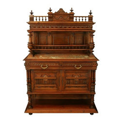 EuroLux Home - Consigned Antique 1900 French Server/Sideboard Henry - Product Details