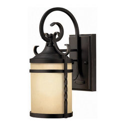 Hinkley Lighting - Hinkley Lighting 1144OL Casa Olde Black Outdoor Wall Sconce - Hinkley Lighting 1144OL Casa Olde Black Outdoor Wall Sconce