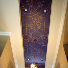 Hand-Painted Ceiling Mural