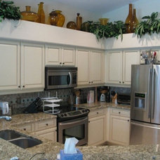 Traditional Kitchen by Royal Palm Closet Design & Fine Cabinetry