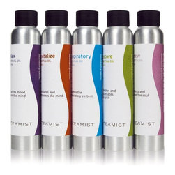 Steamist - Energize 100% Essential Oil - 10 ml - Bring the spa experience to your home by adding fragrant essential oils to your steam shower. The 10ml canister is to be used with Steamist Aroma Sense (TSA) as part of the Total Sense Collection.