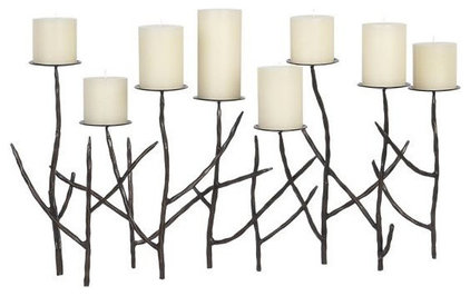modern candles and candle holders by Crate&amp;Barrel