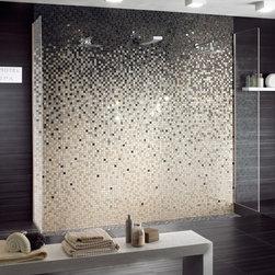 Four Seasons - Mosaics Four Seasons - degradè color 30x180 ideal for shower