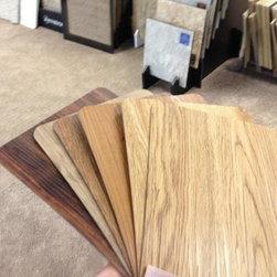 Vinyl Wood Planks - Shawn Jones