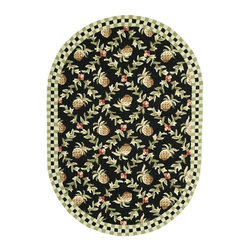 Safavieh - Safavieh Chelsea Transitional Hand Hooked Wool Rug X-62-A461KH - 100% pure virgin wool pile, hand-hooked to a durable Cotton backing. American Country and turn-of-the-century European designs. This collection is handmade in China exclusively for Safavieh.
