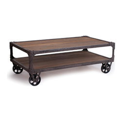 Coffee Table - Rustic Industrial Collection