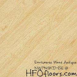 Earthwerks Wood Antique Beveled Edge Plank - Earthwerks Wood Antique, NWT9418CD-BE. Available at HFOfloors.com.