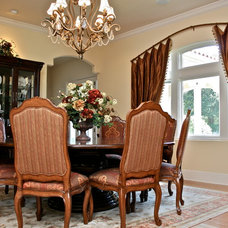 Traditional Curtains by Finishing Touches