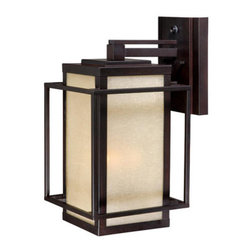 Vaxcel Lighting - Vaxcel Lighting RB-OWU090 Robie 3 Light Outdoor Wall Sconce - Features:
