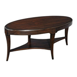 EuroLux Home - New Table Cocktail Addison Black Mahogany - Product Details