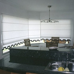 Roman Shades - Available in a variety of styles!