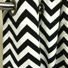 modern shower curtains by Etsy