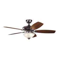 "Kichler Lighting - Kichler Lighting Canfield Pro 52"" Transitional Ceiling Fan X-BBO610733 - Kichler Lighting Canfield Pro 52"" Transitional Ceiling Fan X-BBO610733"