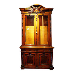 Very Nice Antique French Empire Style Gun Cabinet - Very Nice Antique French Empire Style Gun Cabinet