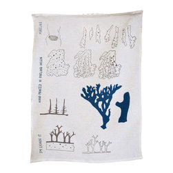 makelike design - Tea Towel - I'm Lichen It - This two-color tea towel is hand-screen-printed using water-based inks on 100% European linen.