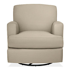 Carter Glider-Swivel Chair & Ottoman - This is a great chair for a good price, and the reviews are really good.