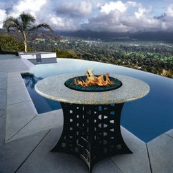 California Outdoor Concepts - La Costa Dining Fire Pit Table -