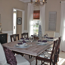 Traditional Dining Room by Ally Whalen Design