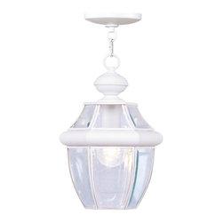 Joshua Marshal - White Hanging Lantern - White Hanging Lantern