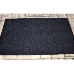 Dean Flooring Company - Dean Indoor/Outdoor Walk-Off Entrance Carpet Door Mat/Rug - Black - 4' x 6' - Dean Indoor/Outdoor Walk-Off Entrance Carpet Door Mat/Rug - Black - 4' x 6' : Dean Indoor/Outdoor Walk-Off Entrance Door Mat/Rug by Dean Flooring Company. Color: Black Face: 100% Hi UV stabilized polypropylene fiber. Backing: All weather non-skid latex rubber. Edges: Will not ravel or delaminate. Size: 4'x6'.  Fade resistant Commercial or residential. Easy to clean (hose off, sweep, vacuum). Made in the USA! Add a touch of warmth and style to your home today with entrance mats from Dean Flooring Company!