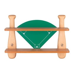 Lite Source - Lite Source Baseball Field Shelf - Lite Source Baseball Field Shelf X-04TM21