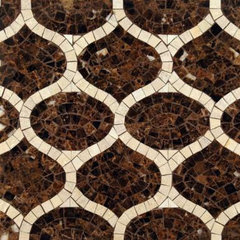 eclectic kitchen tile by Rebekah Zaveloff | KitchenLab