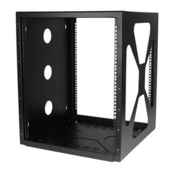 Startech.com - 12U Wall Mount Cabinet - 12U 19in Wall Mount Side Mount Open Frame Rack Cabinet  This item cannot be shipped to APO/FPO addresses. Please accept our apologies.